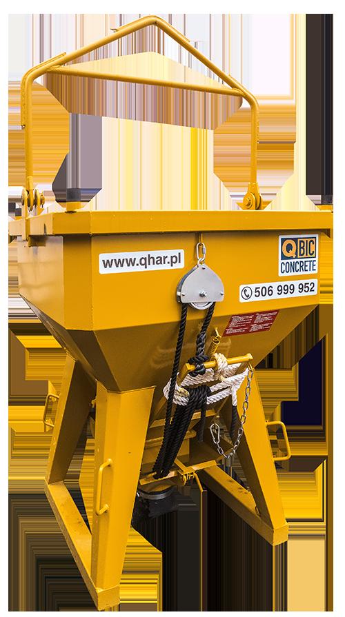 pojemnik do wylewania betonu QBIC TI 1000L