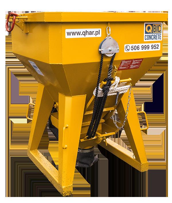 pojemnik na beton QBIC TI PF 1000L