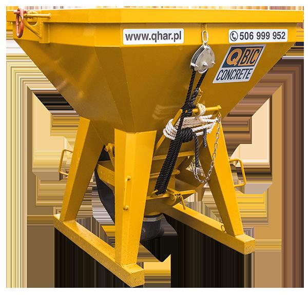 pojemnik na beton QBIC TI PF 1250L